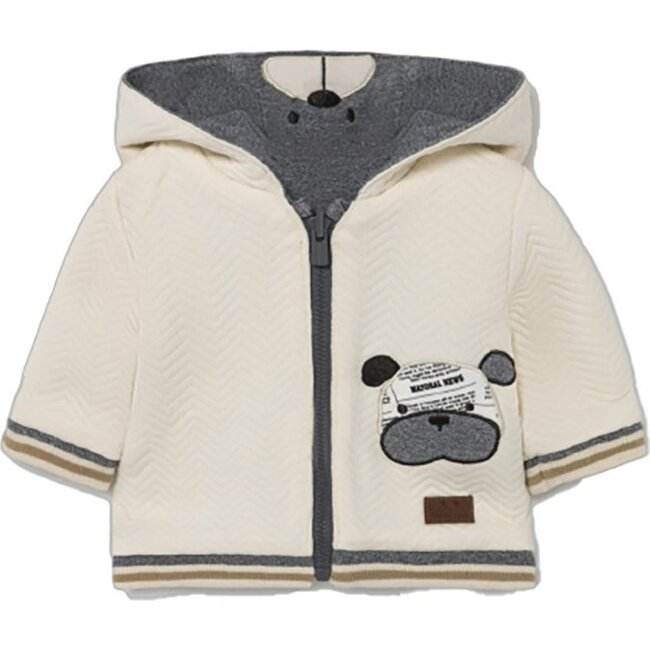Bulldog Reversible Jacket, Gray