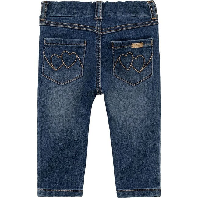 Denim Pants, Navy