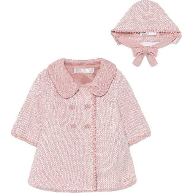 Rose Elegenat Coat, Pink