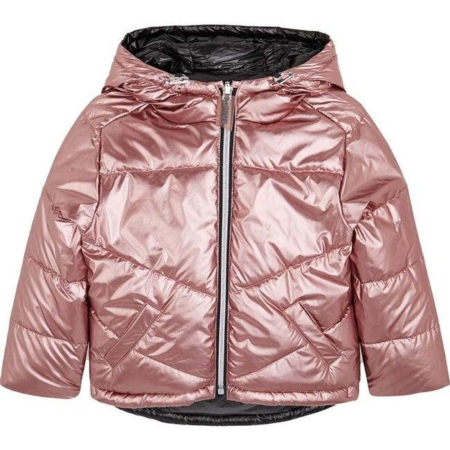 Reversible Coat, Rose Gold