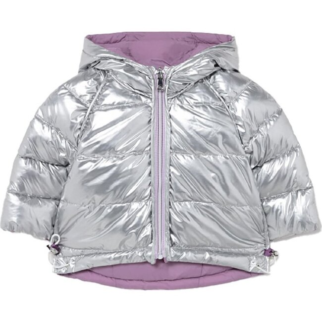 Reversible Coat, Silver