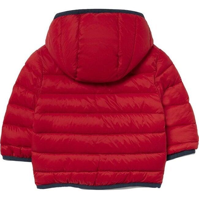 Puffer Coat, Red