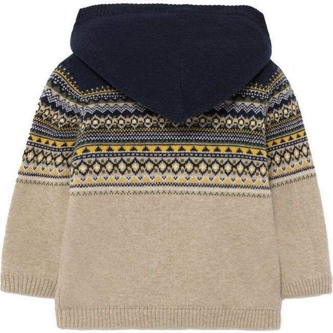 Oak Knit Jacket, Beige