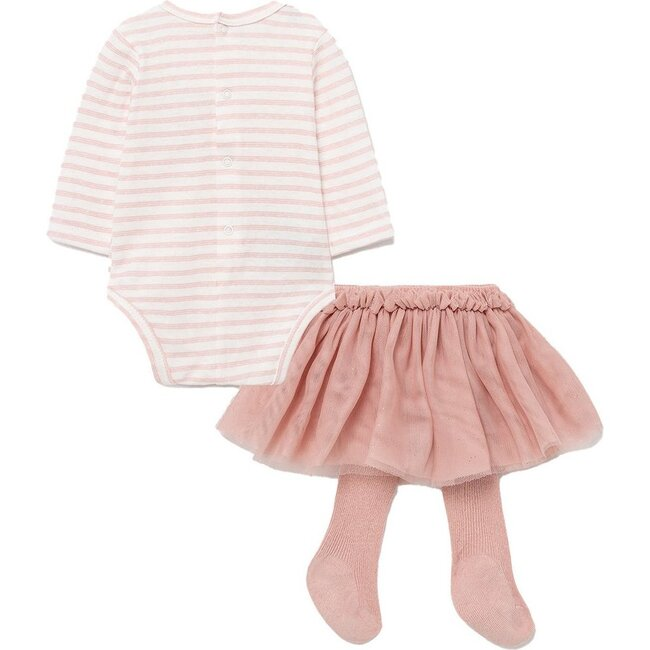 Bunny Tulle Outfit Set, Pink