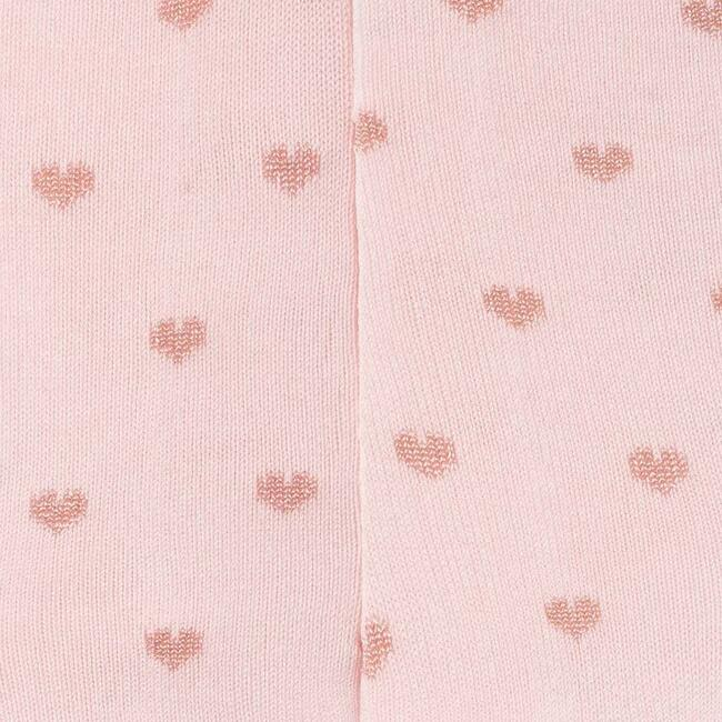 Heart Tights, Pink