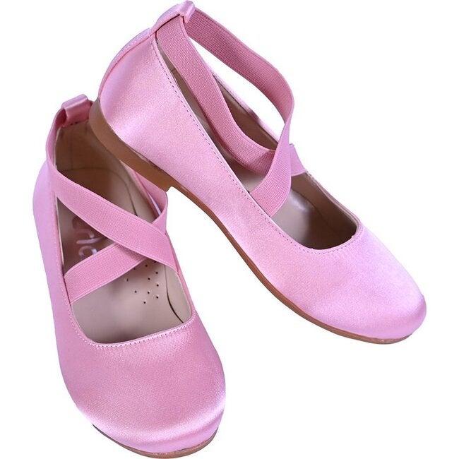 Bubblegum Ballerina Flats, Pink