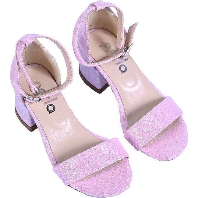 Bubblegum Glitter Heels, Pink