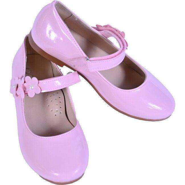Bubblegum Flower Flats, Pink