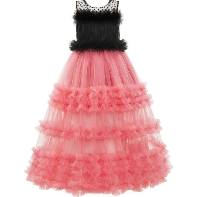 Stacia Dress, Fuchsia