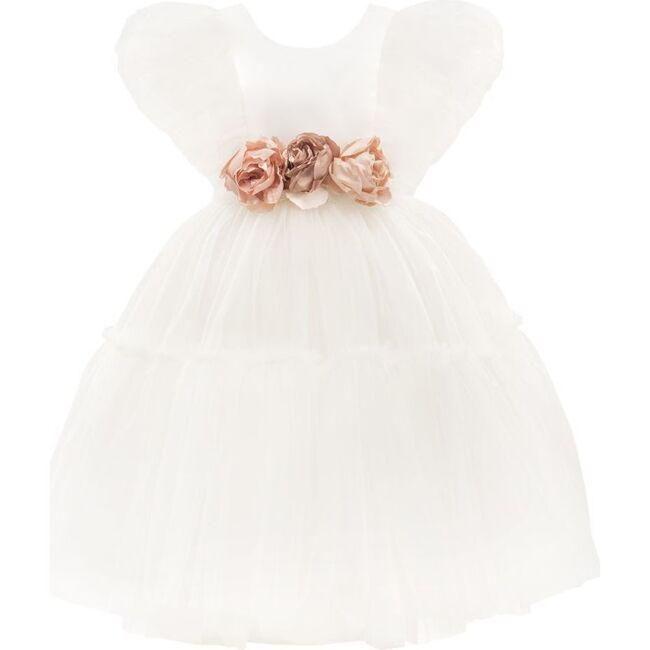 La Croix Dress, White