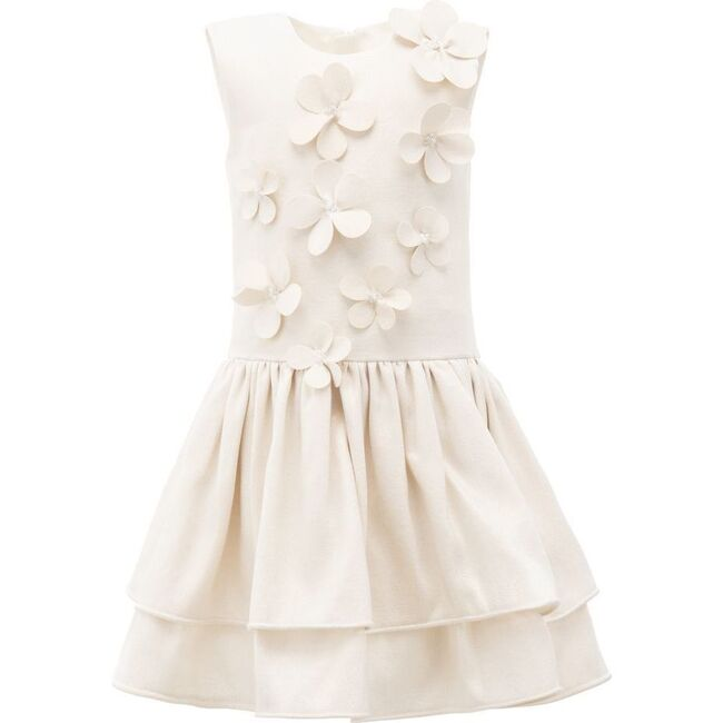 Knowles Floral Dress, Gold