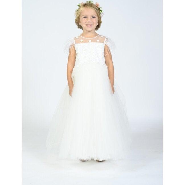 Ayala Dress, White