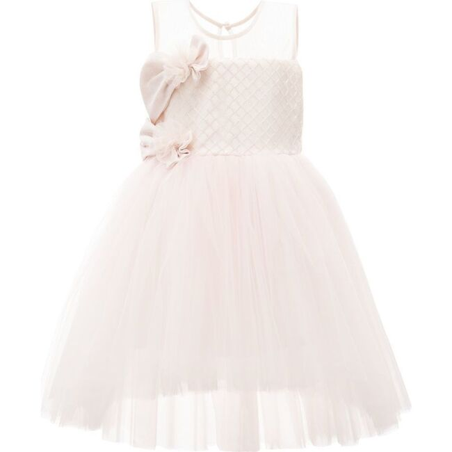 Auzerais Bow Dress, Rose