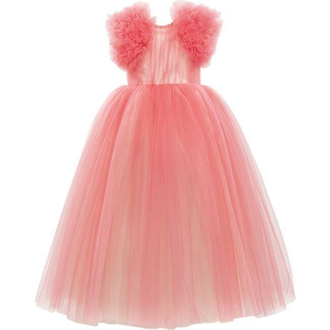 Altura Tulle Dress, Fuchsia
