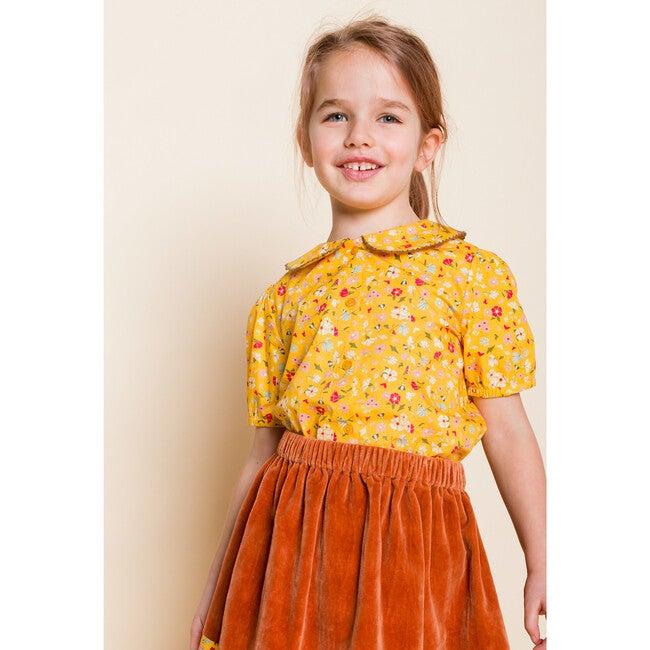 Velvet Skirt, Rust