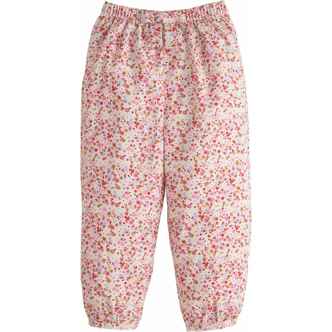 Banded Bow Pant, Daphne Floral