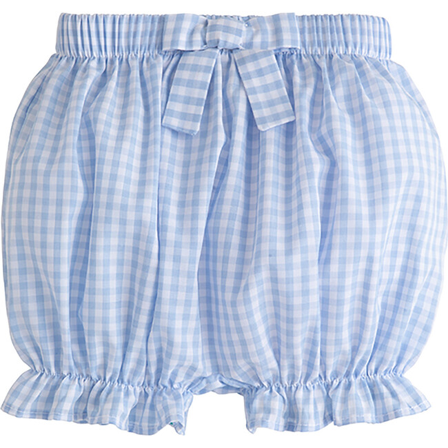 Bow Bloomer, Airy Blue Plaid