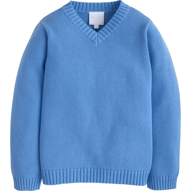 V-Neck Sweater, Airy Blue