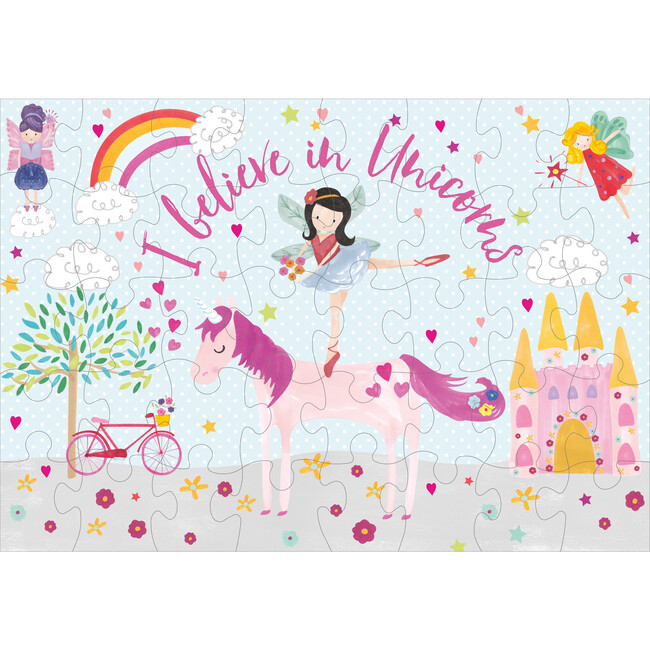 Fairy Unicorn 40-Piece Puzzle