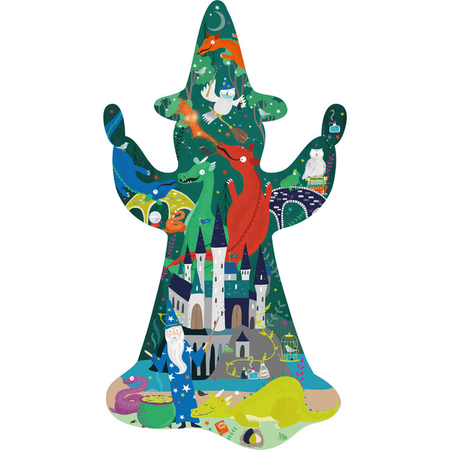 Spellbound Wizard Shaped Puzzle