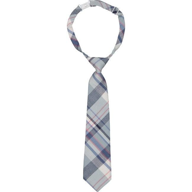 Plaid Tie, Pastel - Bowties & Ties - 1