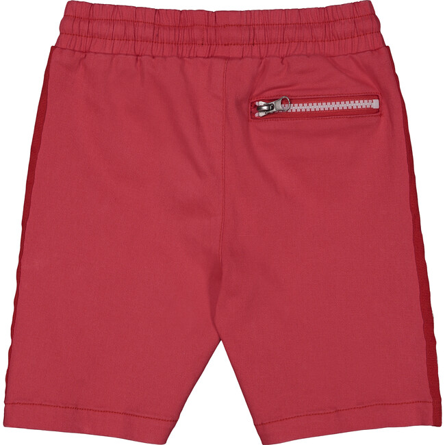 Taped Short, Red Twill