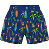 Cabana Chill Swim Trunk, Blue Surf - Swim Trunks - 1 - thumbnail