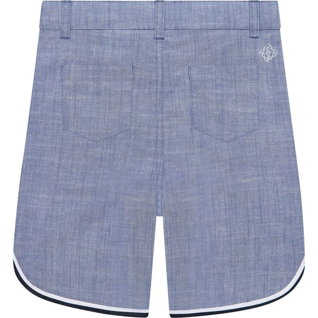 Piped Shorts, Blue