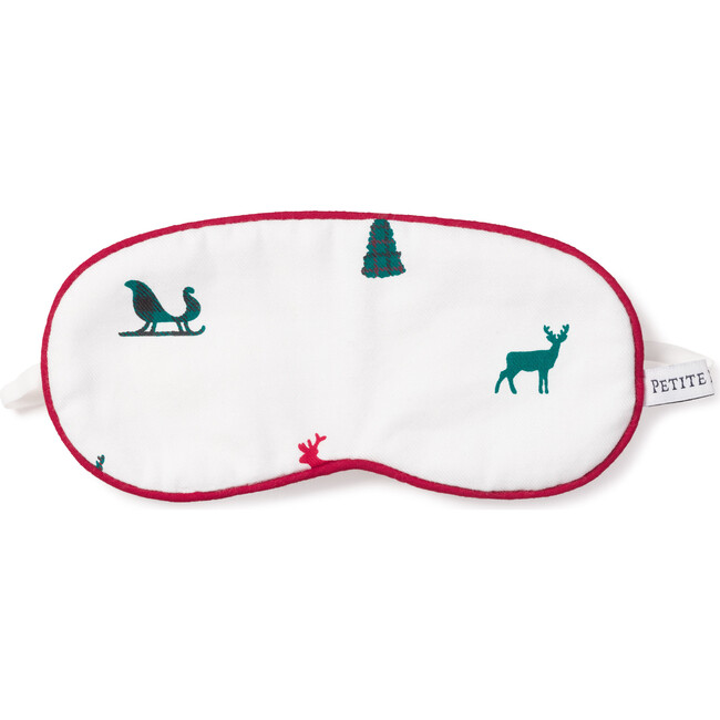 Adult Eye Mask, Sleigh Bells in the Snow