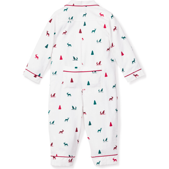 Infant Romper, Sleigh Bells in the Snow