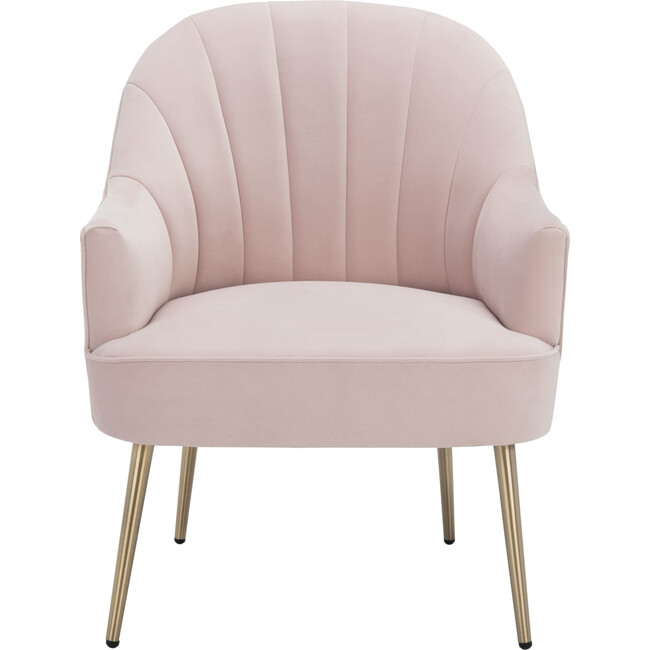 Areli Accent Chair, Pink