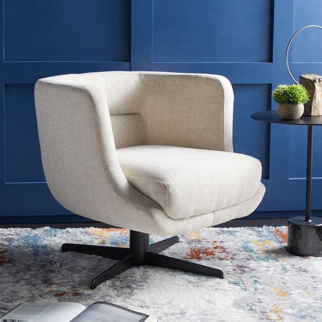 Wexler Accent Chair, Cream