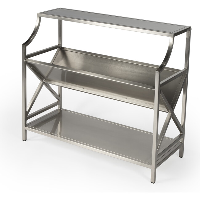 Keats Library Bookcase, Silver