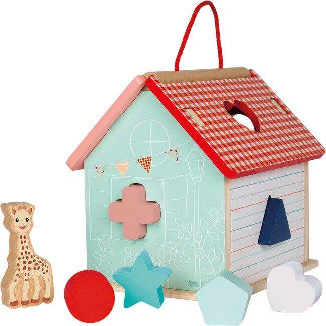 Sophie La Girafe Shape Sorting House