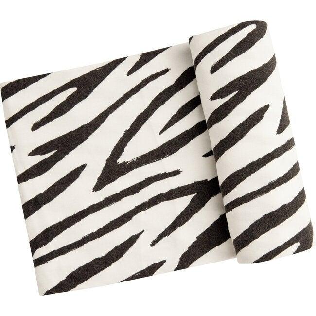 Zebra Swaddle, Black