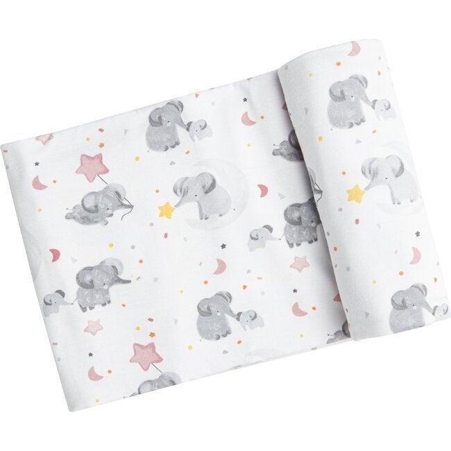Elephant Swaddle, Pink