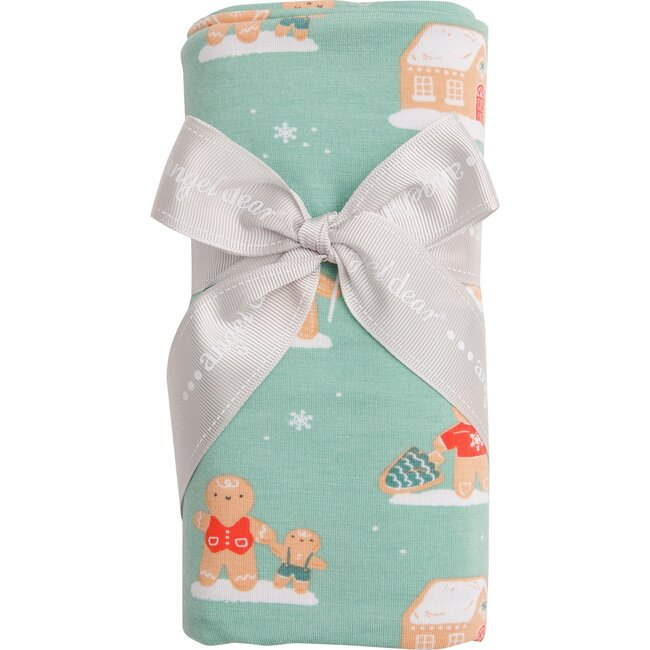 Gingerbread Swaddle, Green