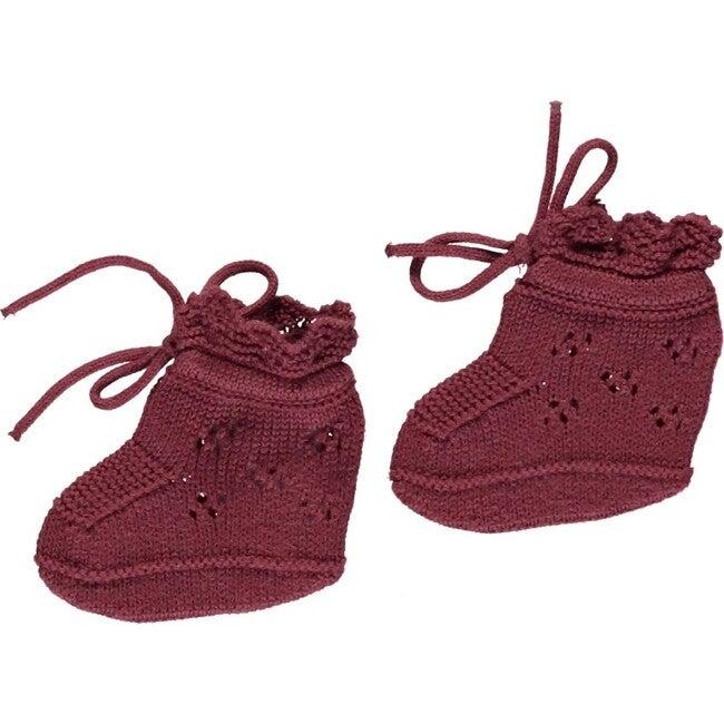 Ida Boutees, Burgundy Knit