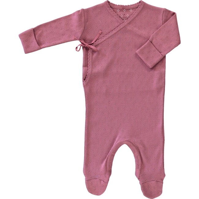 Bebe Wrap Overall Old Rose