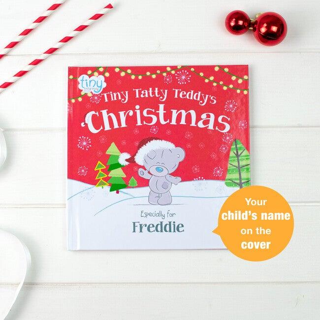Personalized Tiny Tatty Teddy's Christmas Book, Hardback