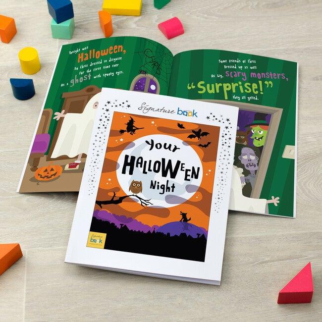 Personalized Halloween Book, Softback