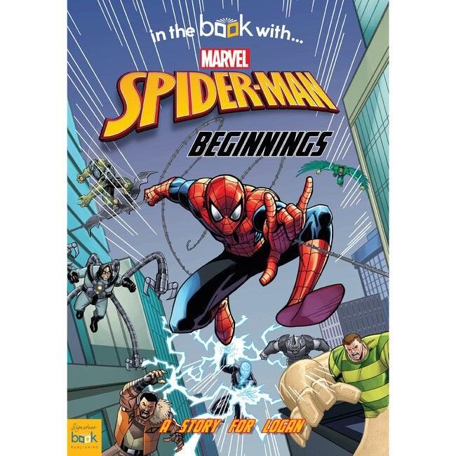 Spider-man Beginnings Personalized Marvel Story Book, Hardback