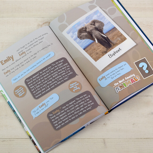 Personalized How to Save The Most Amazing Animals, Hardback