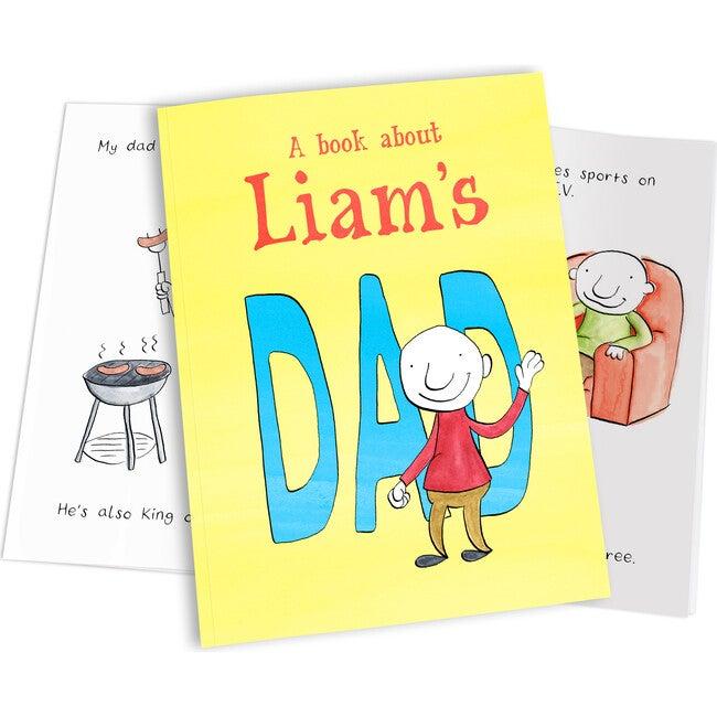 Personalized My Dad Book, Hardback