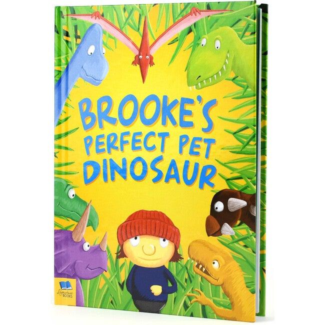 Personalized Pet Dinosaur Story Book Hardback