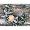 Hoop Wreath, White Rose - Wreaths - 4