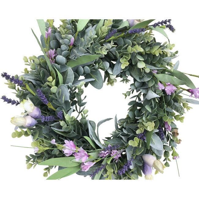 Spring Wreath, Wild Flower - Wreaths - 1