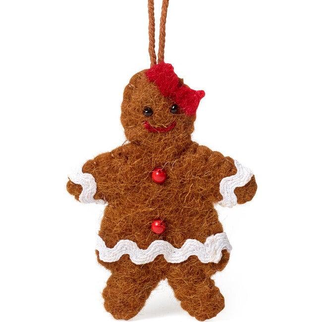 Gingerbread Gal Ornament