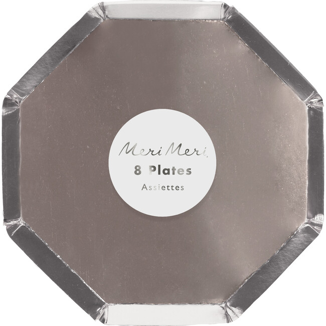 Silver Cocktail Plates