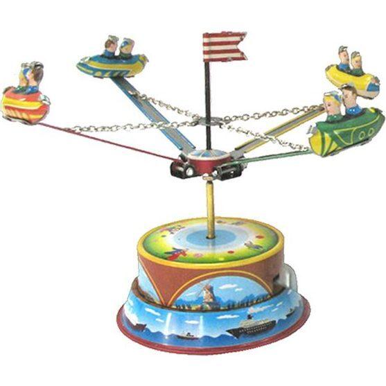 Carousel Tin Toy, Multi